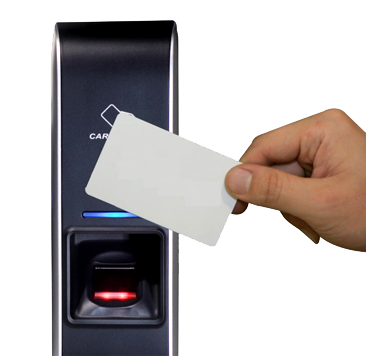 Controlo de acessos biométrico