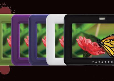 Alarmes de intrusão Paradox - teclados LCD